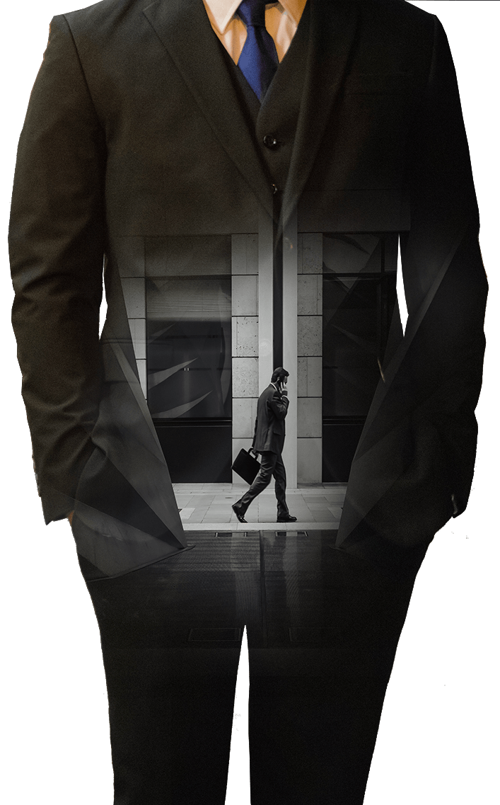 Businessman figure - art