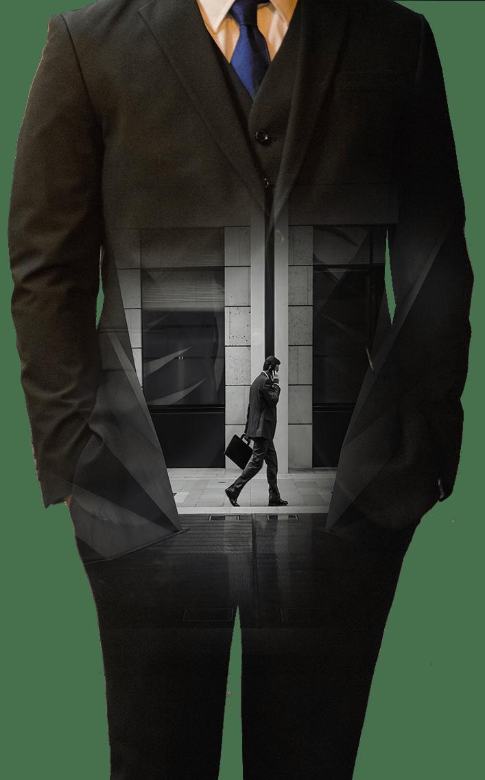 Businessman figure - art